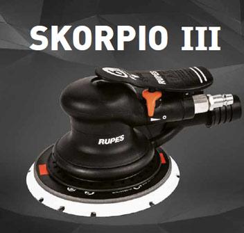 innovation RUPES-Skorpio-III-Pneumatic-Sander