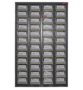 Carklips 48 Drawer Cabinet with 870 Top Selling CarKlips and Bulbs
