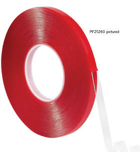 Pro Form Premium Double Sided Acrylic Foam Tape Clear 6mm x 18m