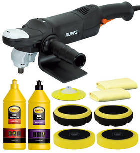 Two Top Brands, One Great Price - RUPES & Farecla Polishing Combo